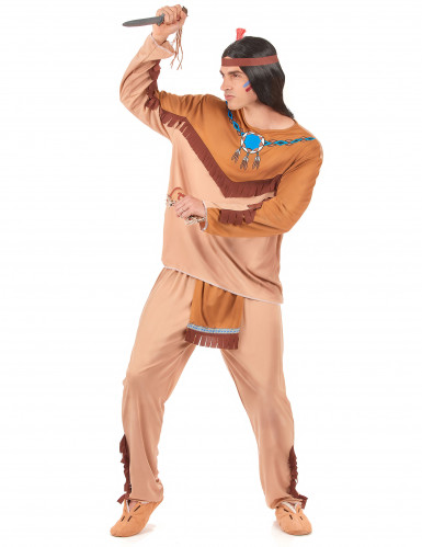 Bruin indianen koppel kostuums-1