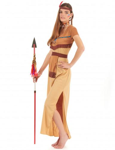 Bruin indianen koppel kostuums-2