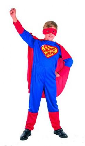 Verkleedkostuum Superheld voor jongens Carnavalspak