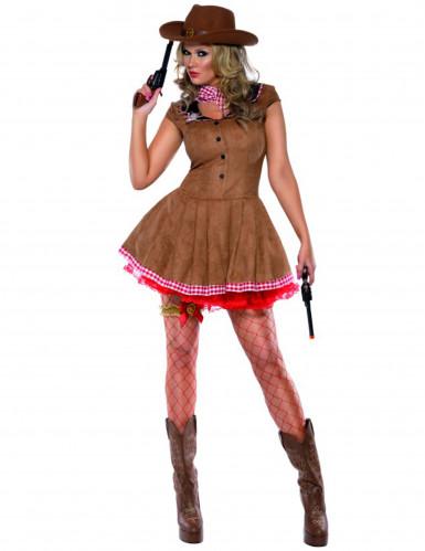 Sexy cowgirl kostuum voor vrouwen
