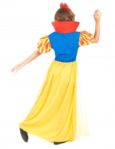 Sneeuwwitje kostuum voor meisjes-2