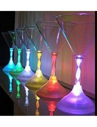 Lichtgevend cocktailglas