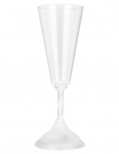 Lichtgevend champagneglas