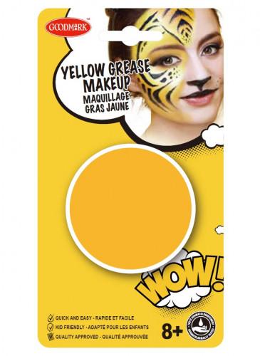 Gele schmink op waterbasis-1