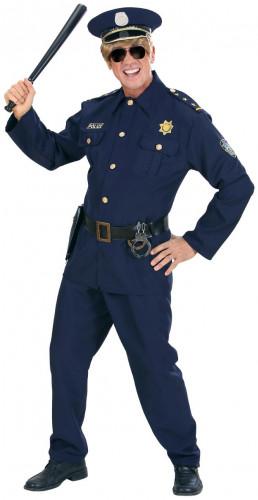 Blauw agent kostuum voor mannen