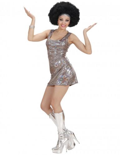 Zilverkleurig disco pak voor dames