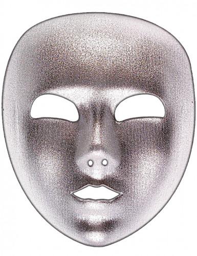 Zilverkleurig masker voor volwassenen