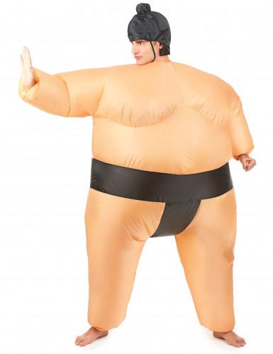 Opblaasbaar sumoworstelaar kostuum-1
