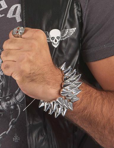Ring met doodskop voor mannen-1