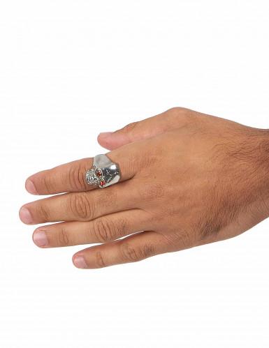 Ring met doodskop voor mannen-2