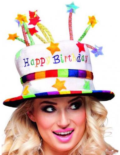 'Happy Birthday-hoed' voor volwassenen