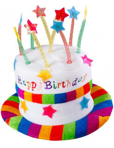 'Happy Birthday-hoed' voor volwassenen-1