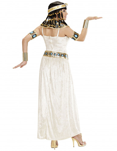 Fluweerlachtig Egyptische koningin kostuum voor dames-2