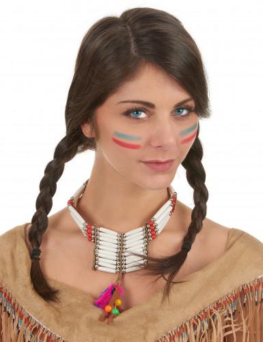 Indiaanse halsketting voor dames-1