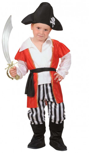 Zeerover piratenpak voor jongens
