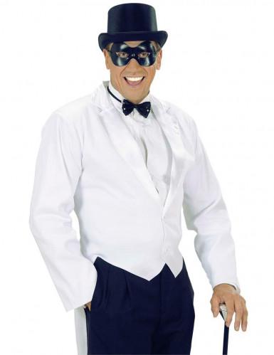 Zwart rond en groot oogmasker voor volwassenen