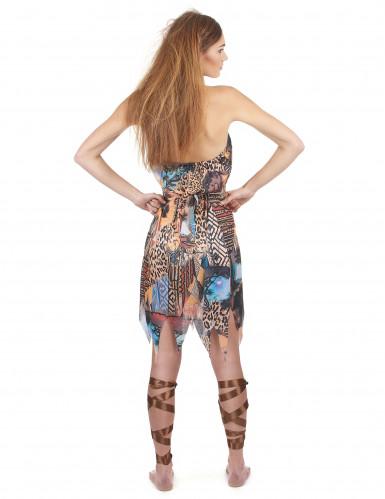 Vrouw van de jungle kostuum voor dames-2
