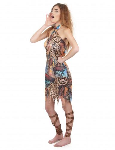 Vrouw van de jungle kostuum voor dames-1