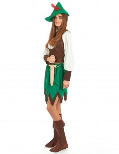Robin Hood kostuum voor dames-1