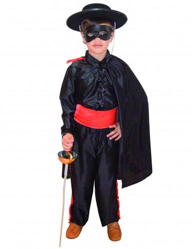 Gemaskerde weldoener kostuum voor jongens