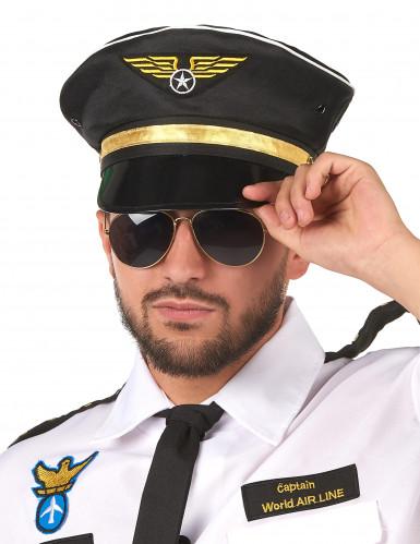 Pilotenpet voor volwassenen.