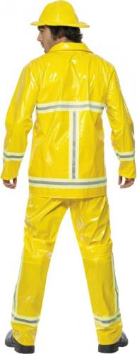 Geel brandweerpak voor mannen-1