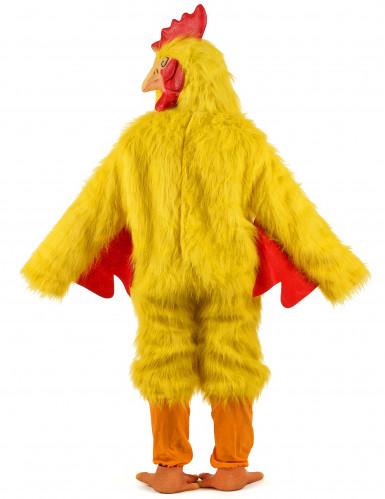 Luxe kip kostuum voor volwassenen-2