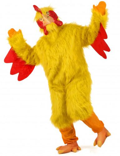 Luxe kip kostuum voor volwassenen-1