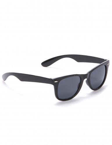 Zwarte jaren 50-bril