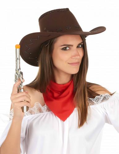 Bruine cowboyhoed-2