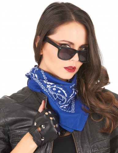 Blauwe bandana-1