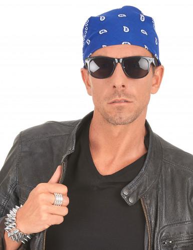 Blauwe bandana-2