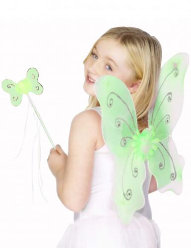 Groene vlinderset voor meisjes