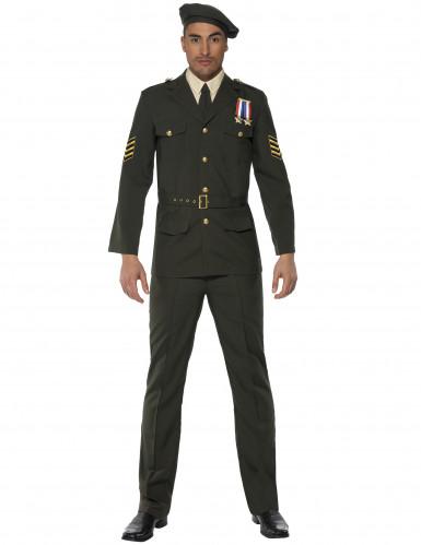 Officierenkostuum voor mannen