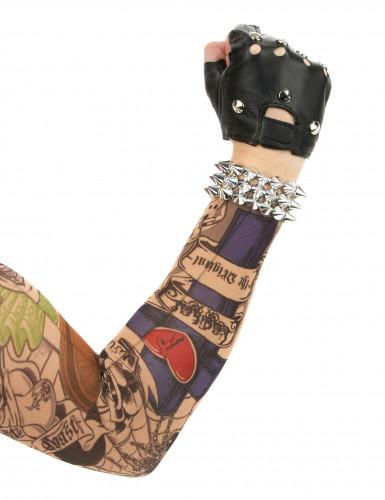 Vingerloze punk handschoenen-1