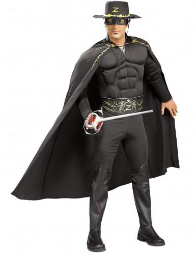 Gespierd Zorro™ kostuum voor mannen