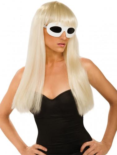 Pruik van Lady Gaga™ voor dames