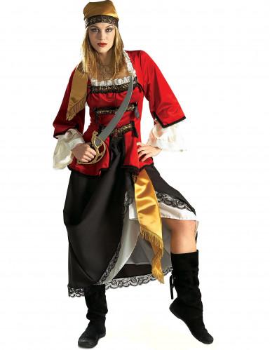 Luxe piraten pak voor dames