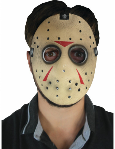 Jason Friday the 13th™ masker voor volwassenen-1