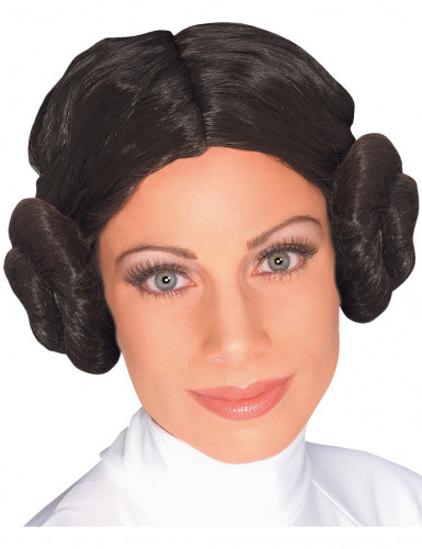 Prinses Leia Star Wars™ pruik voor dames