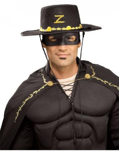 Zorro™ hoed en masker voor volwassenen