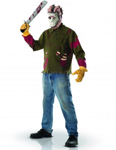 Jason Friday the 13th™ kostuum met masker voor heren