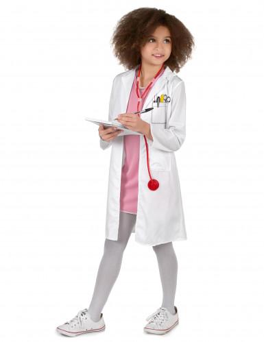Dokter kostuum voor meisjes-1