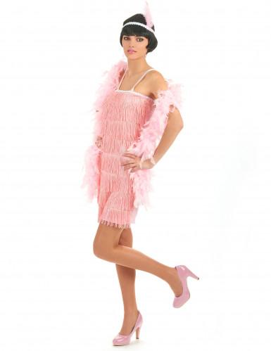 Roze charleston outfit voor vrouwen-1