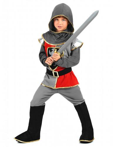 Middeleeuwse ridder outfit voor jongens-1