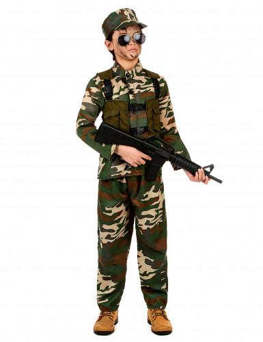 Militair soldaten kostuum voor jongens