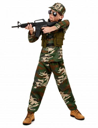 Militair soldaten kostuum voor jongens-1
