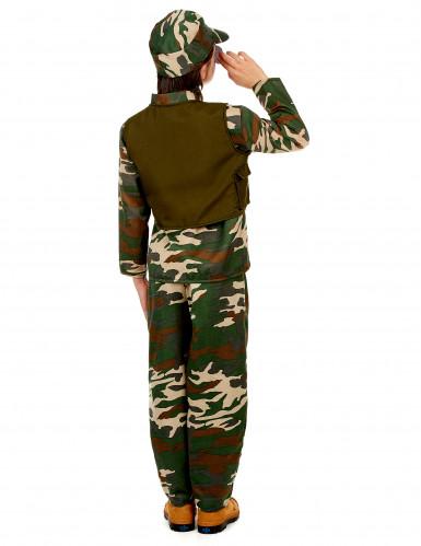 Militair soldaten kostuum voor jongens-2