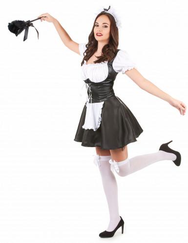 Kamermeisje kostuum voor dames-1