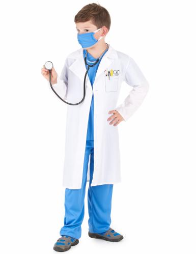 Dokter kostuum voor jongens-1